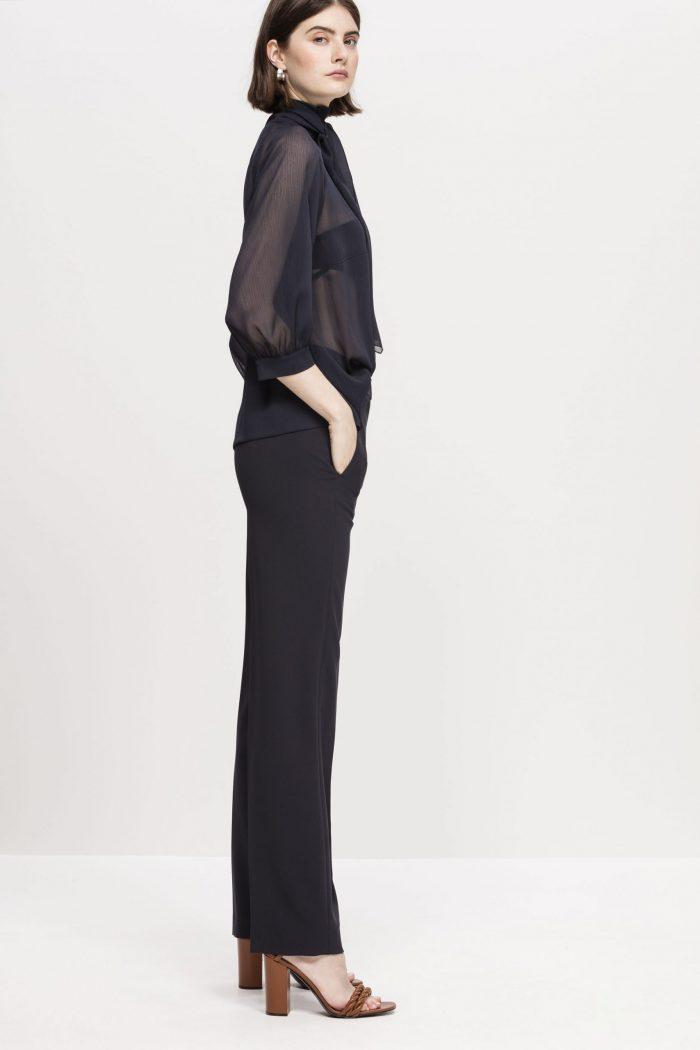 Luisa Cerano Wide-Legged Trousers